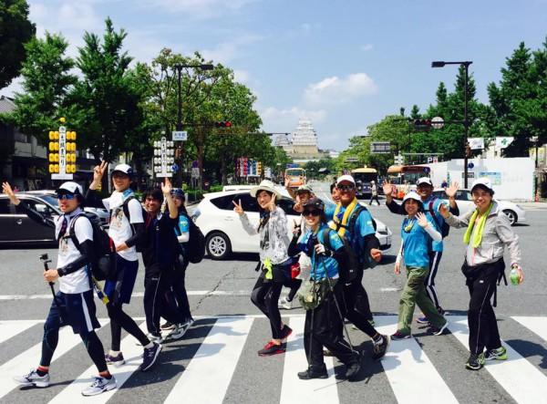 関西チャリティ100km歩こうよ♪大会 姫路城
