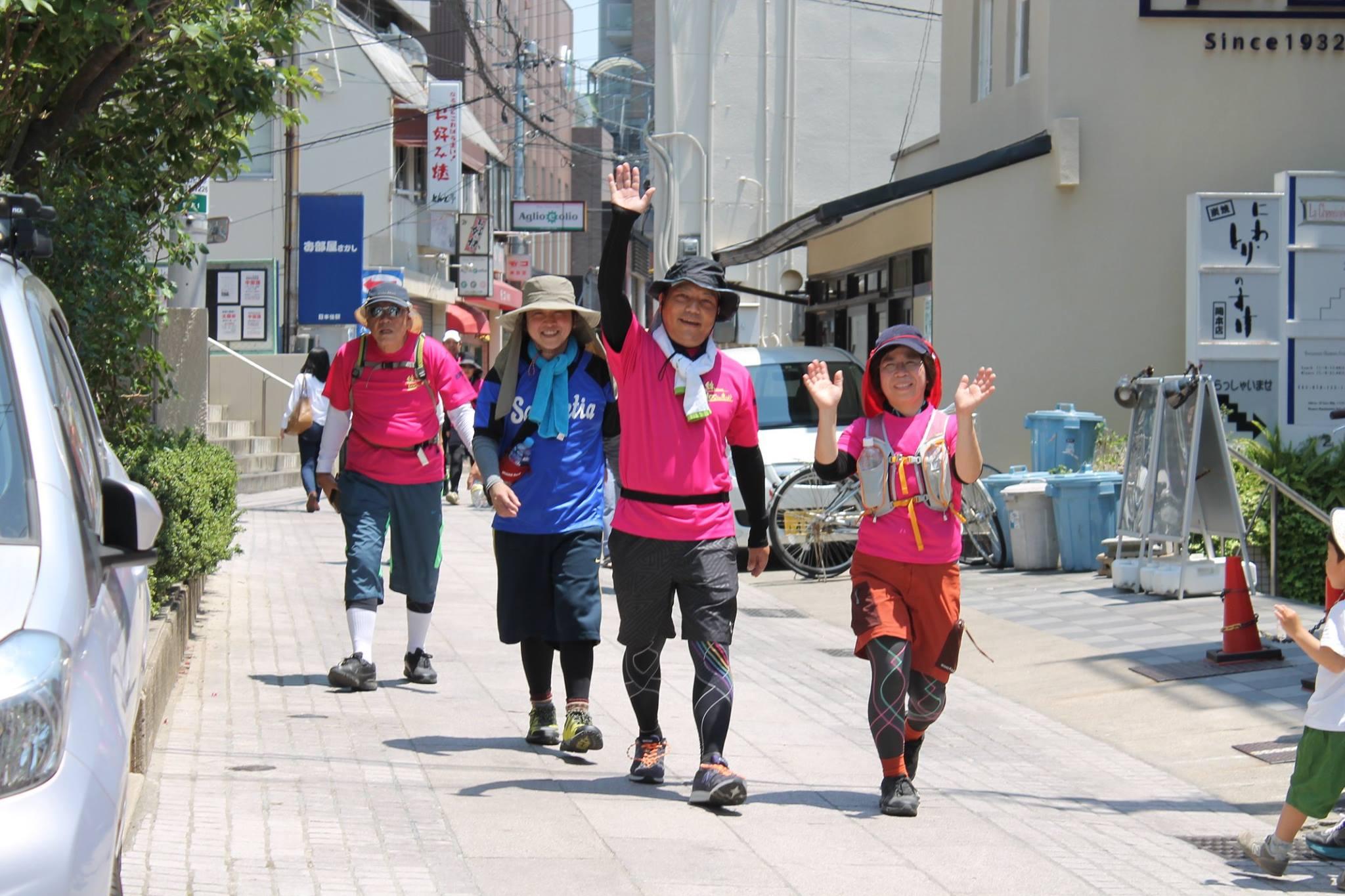 2017関西チャリティ100km歩こうよ♪大会